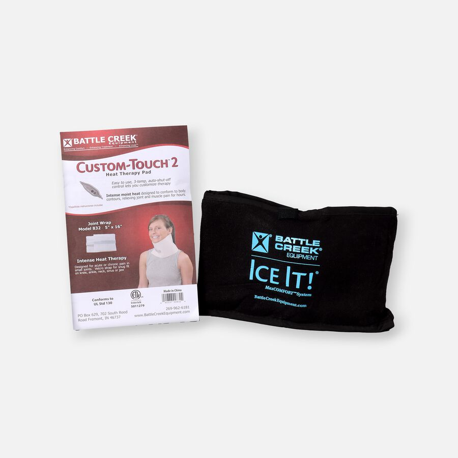 Battle Creek Neck Pain Kit 2.0  with Electric Moist Heat and Cold Therapy, , large image number 0