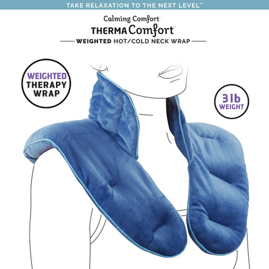 ThermaComfort™ 3 lb. Weighted Hot/Cold Neck Wrap, , large image number 3