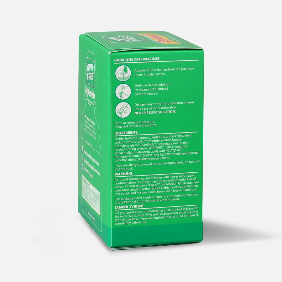 Opti Free Replenish Disinfecting Solution, Multi-Purpose, 2 fl oz, , large image number 2