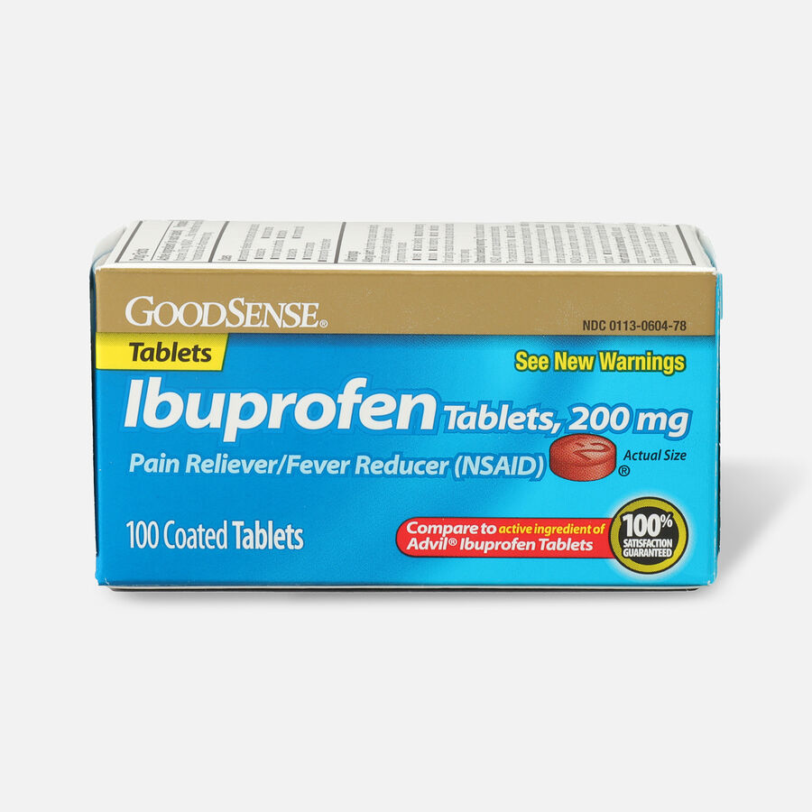 GoodSense® 200mg Ibuprofen Tablet 100 Count, , large image number 0