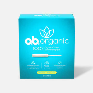 o.b. Organic Tampon with Applicator 18ct