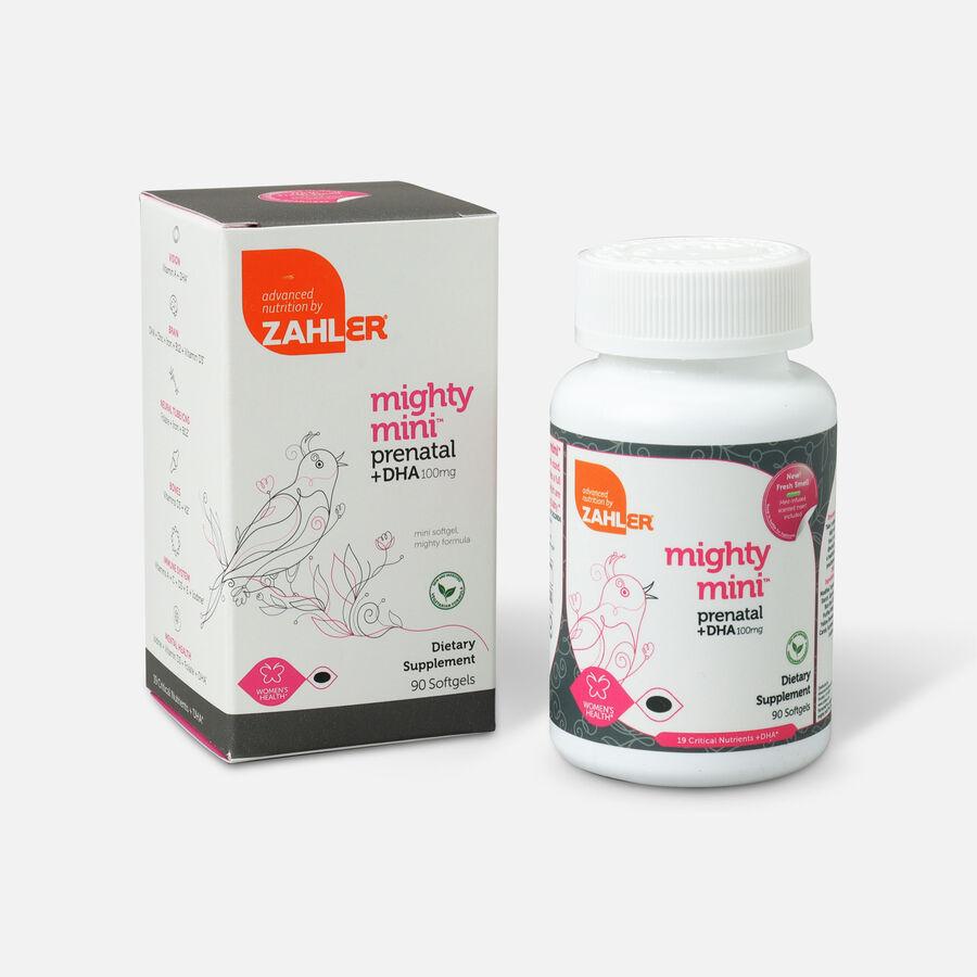 Zahler Mighty Mini Prenatal DHA 100mg Vitamins, 90 softgels, , large image number 4