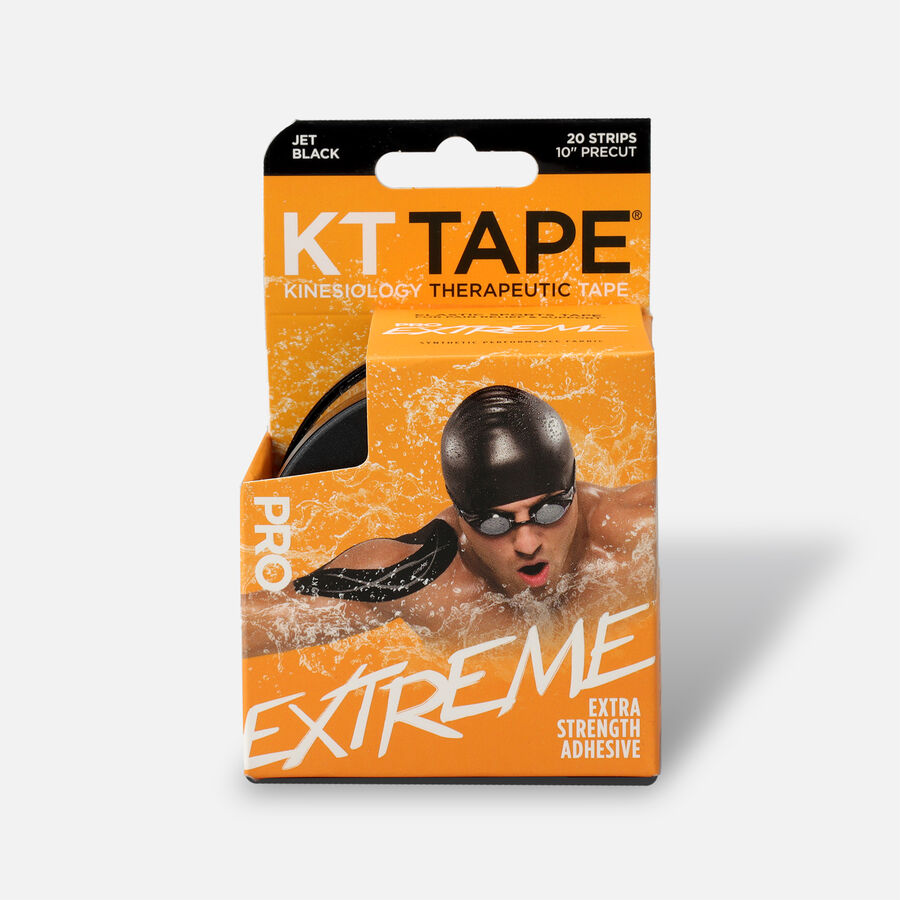 KT Tape Pro Extreme, Extra Strength Adhesive, Black, 20 ct, , large image number 0