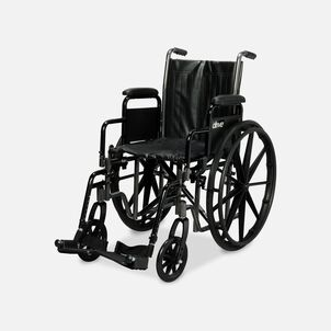 Drive Silver Sport 2 Wheelchair, Swing Away Footrests