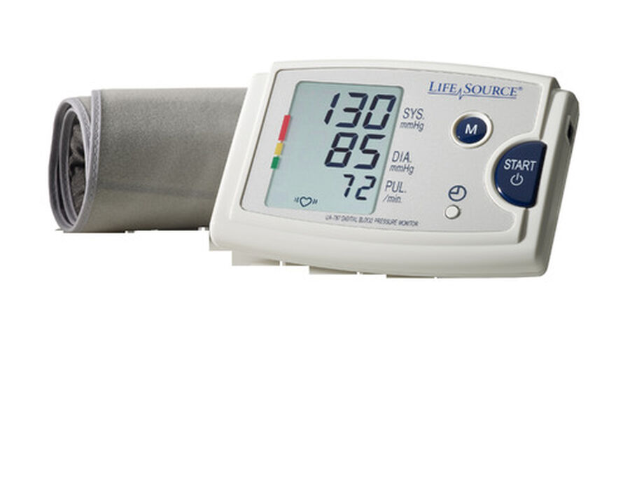 LifeSource UA-787EJ Quick Response Arm BP Monitor with Easy-Fit Cuff, , large image number 2
