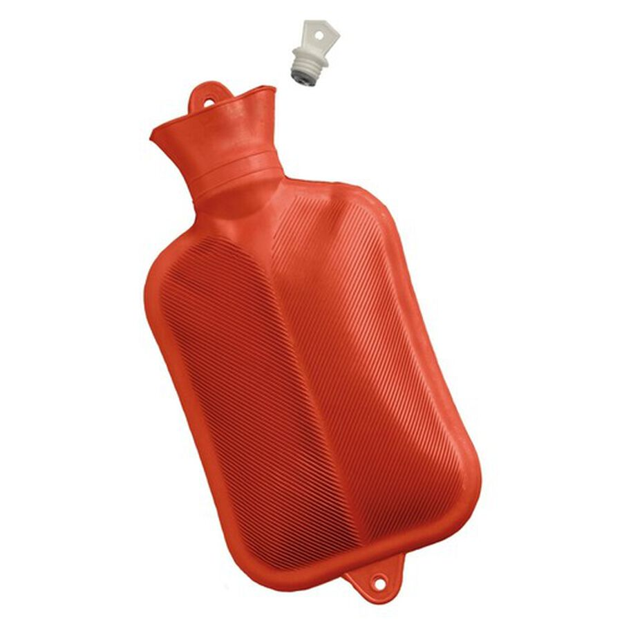 Mabis Rubber Water Bottle, Red, , large image number 3