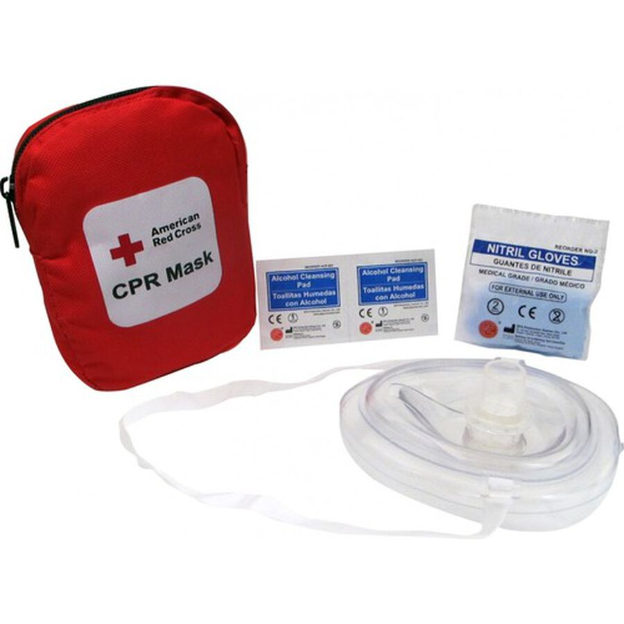 Genuine First Aid Portable CPR Mask, Soft Case, , large image number 0