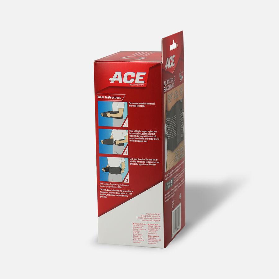 ACE Adjustable Back Brace, , large image number 2
