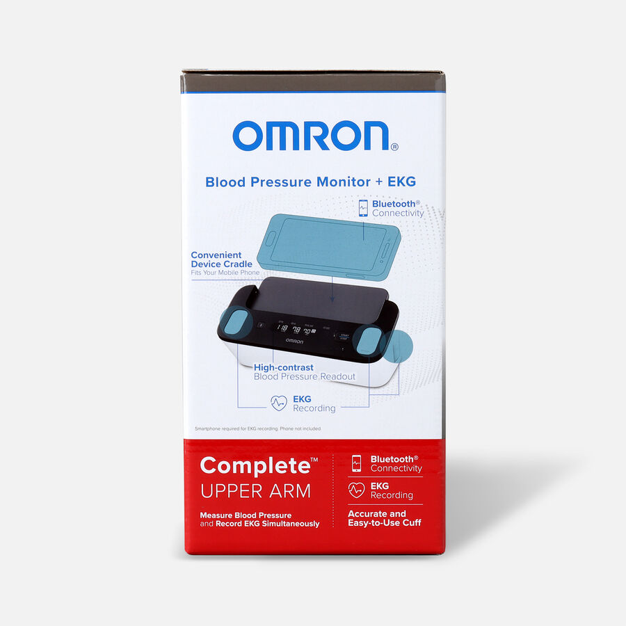Omron Complete Wireless Upper Arm Blood Pressure Monitor + EKG, , large image number 1