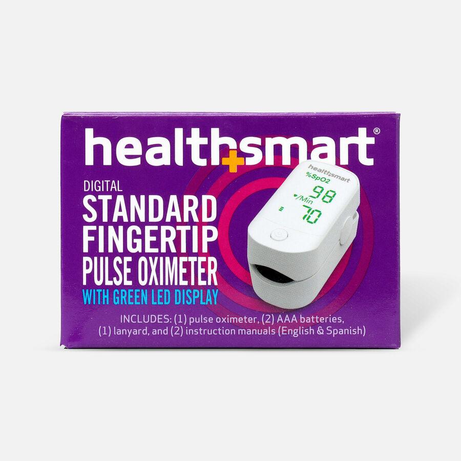 HealthSmart Pulse Oximeter Standard with Green LED Display, , large image number 1