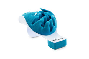 Kanjo Neck Pain Relief Support Cradle, Blue/White