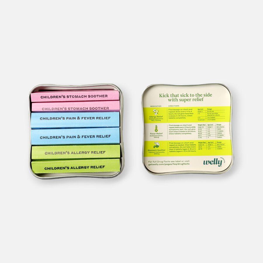 Welly Children's Medicine Travel Kit - 42ct, , large image number 2