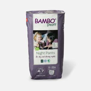 Bambo Dreamy Night Pants, Girls, 4-7 Years, 10ct