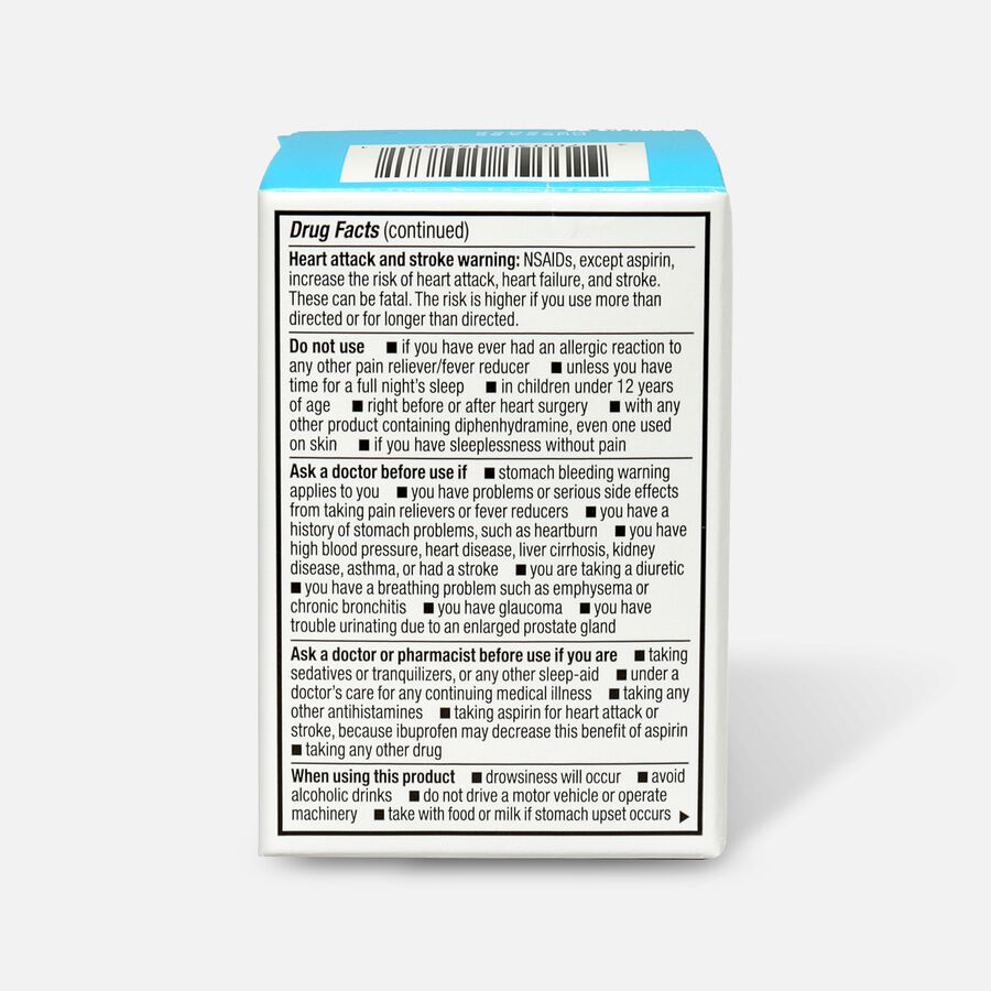 GoodSense® Ibuprofen PM 200 mg/38 mg Coated Caplets, 20 ct, , large image number 1