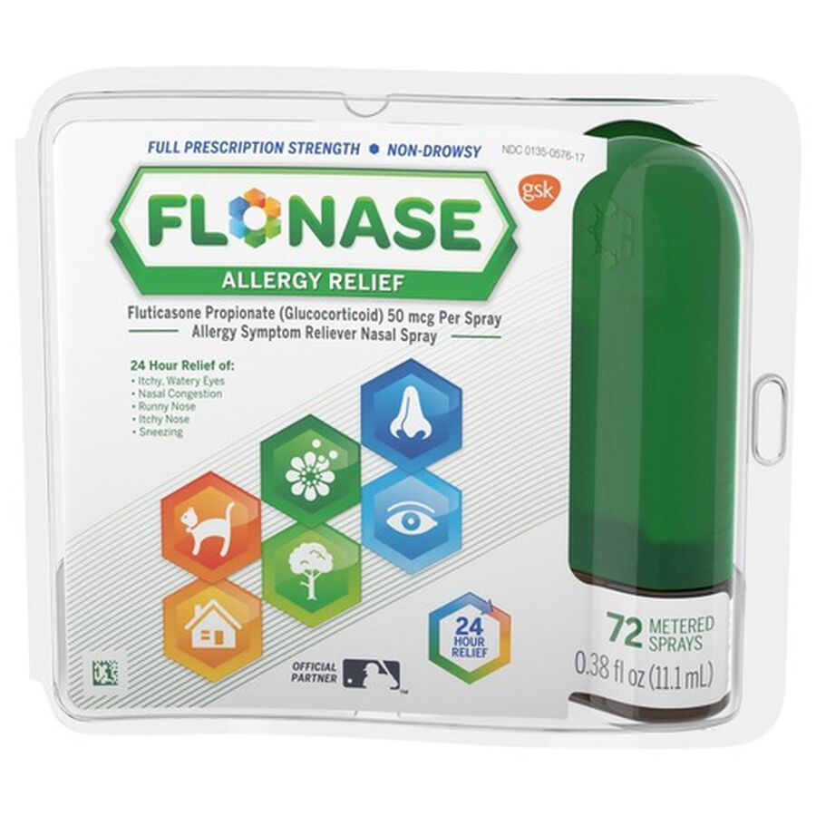 Flonase Allergy Relief Nasal Spray, 72 ct, , large image number 0