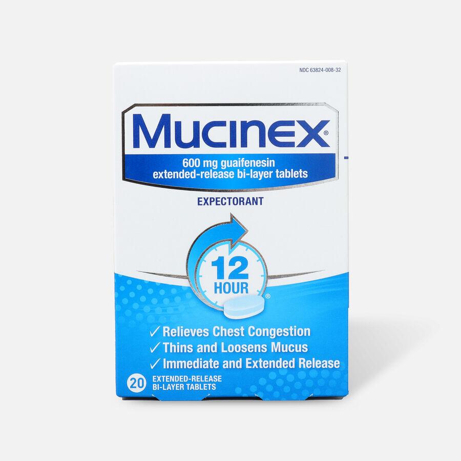 Mucinex SE Extended Release Bi-Layer Tablets, 20 ct, , large image number 0
