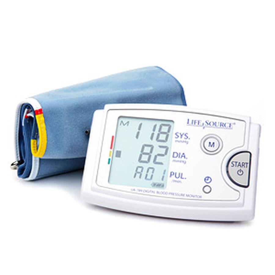 LifeSource UA-789AC Arm Blood Pressure Monitor w/ XL Cuff, , large image number 2