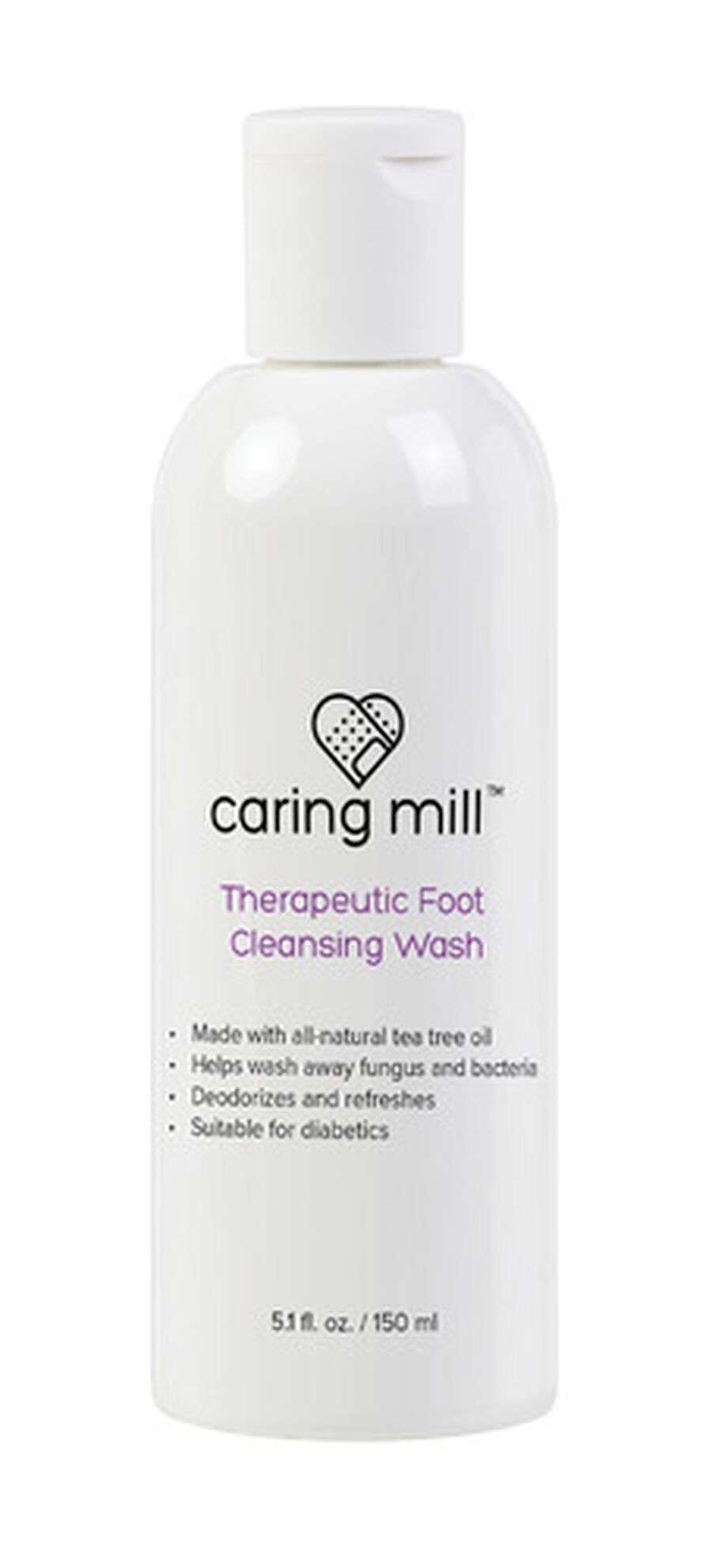 Caring Mill™ Therapeutic Foot Cleaning Wash 5.1 oz, , large image number 0