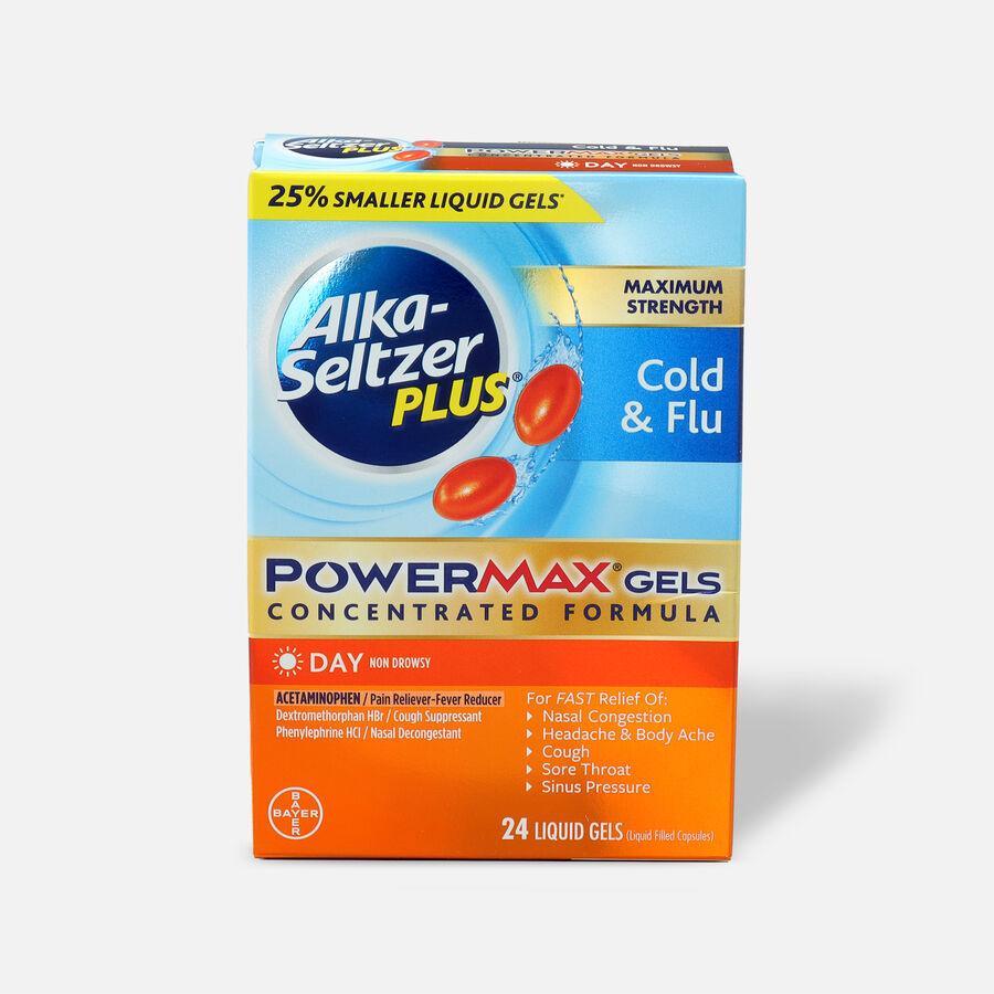 Alka-Seltzer Plus Cold & Flu PowerMax Gels, Day, 24ct, , large image number 0