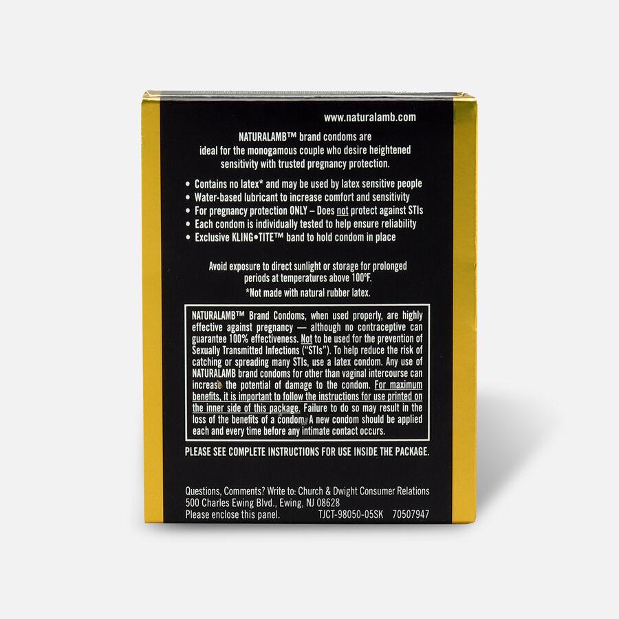 Trojan Condoms Trojan Naturalamb Skin 3 Pack Condoms, , large image number 1