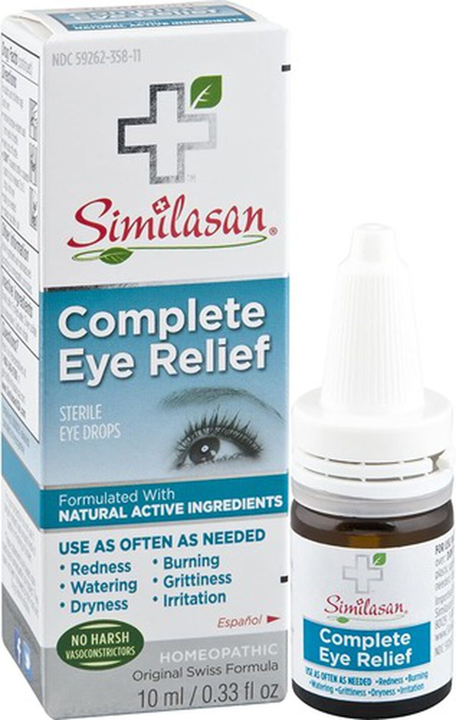 Similasan Complete Eye Relief, 0.33 fl. oz., , large image number 3