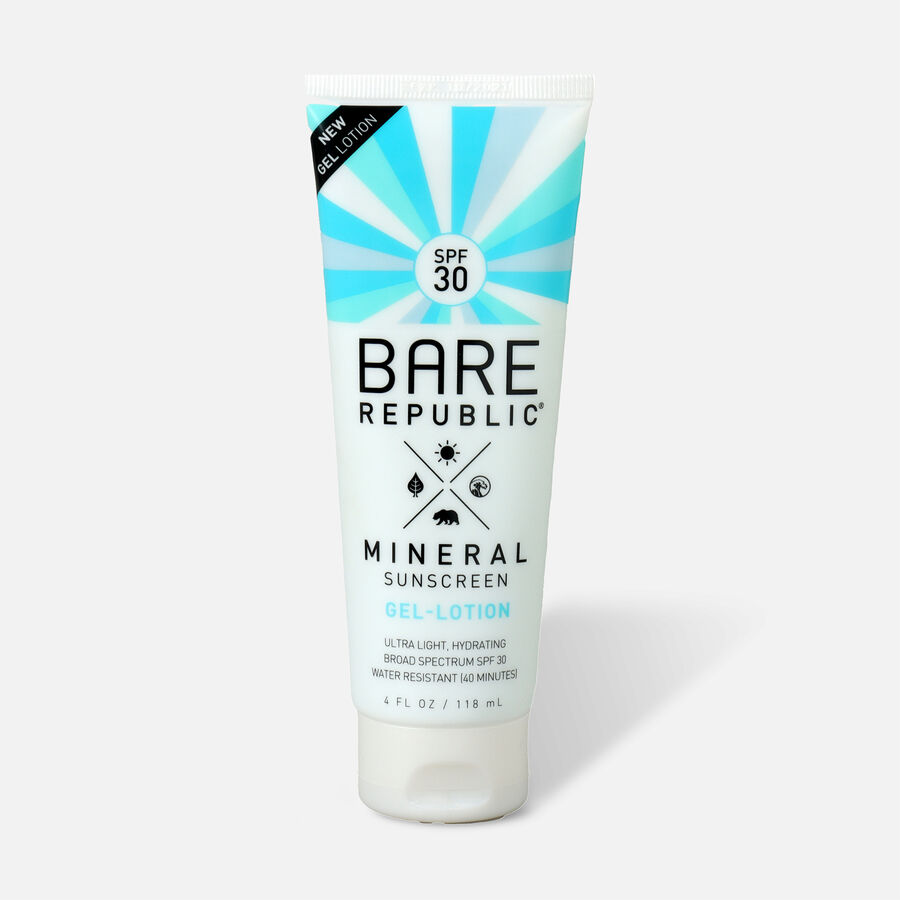 Bare Republic Mineral Gel Body Lotion SPF 30, 4 fl oz., , large image number 0