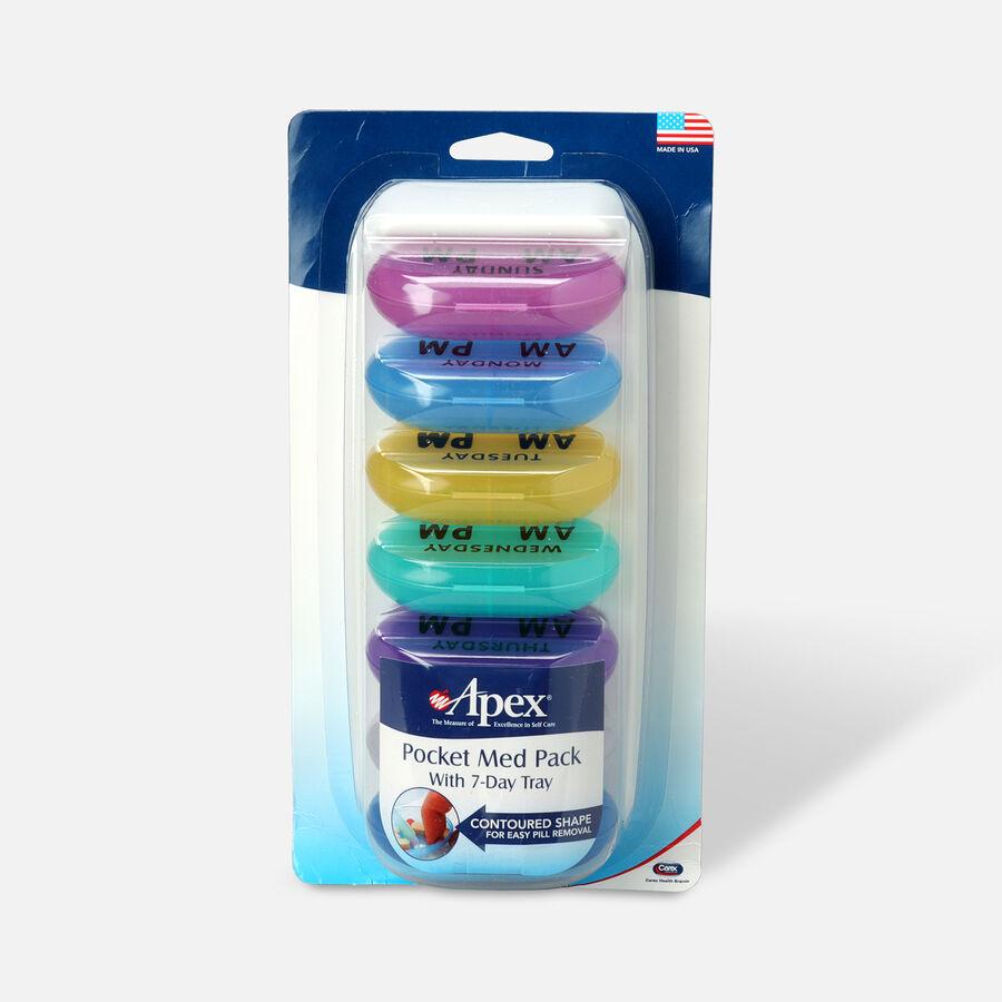 Apex Pocket Med Pack with 7 Day, Carex 70075, , large image number 0