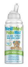 PediaMist Pediatric Sterile Saline Spray, 2.53 fl oz, , large image number 0