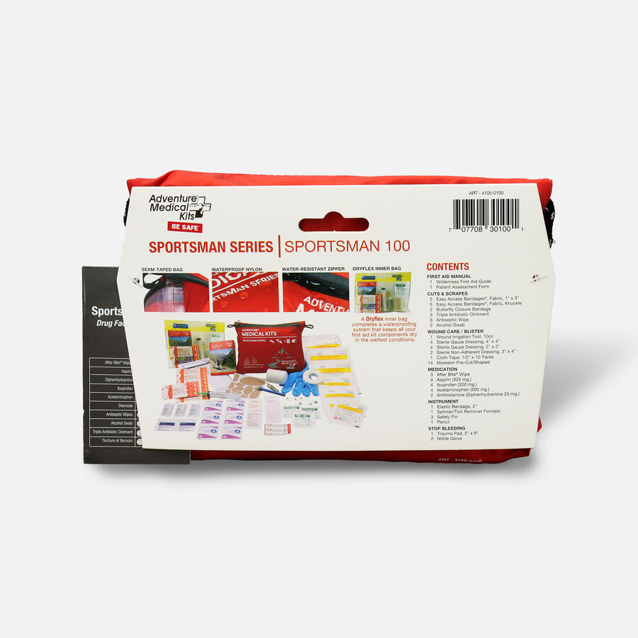 Adventure Medical Sportsman 100 First Aid Kit, , large image number 1