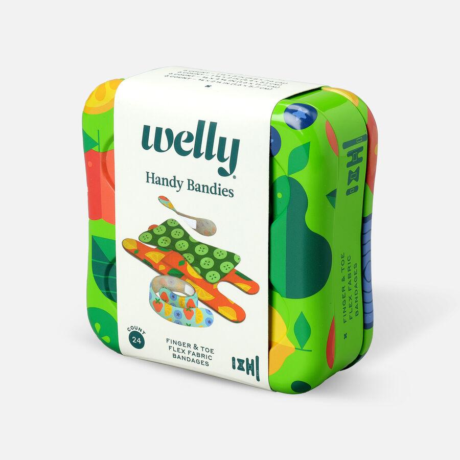 Welly Handy Bandies Veggie Assorted Toe & Finger Flex Fabric Bandages - 24ct, , large image number 2