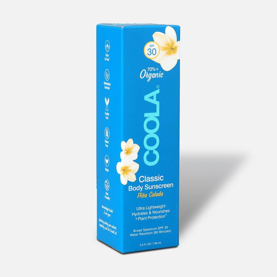 Coola Classic Body Organic Sunscreen Lotion SPF 30 Pina Colada, 5oz., , large image number 3