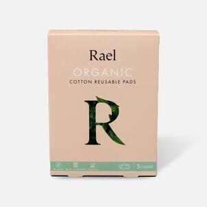 Rael Organic Cotton Reusable Pads