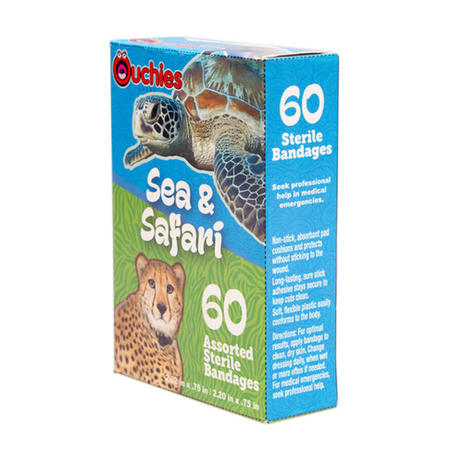 Ouchies Sea and Safari Bandages, 60ct, , large image number 3
