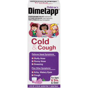Children's Dimetapp Cold & Cough, Grape