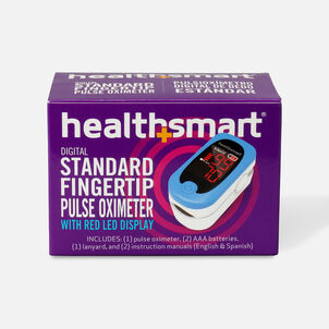 HealthSmart Pulse Oximeter Standard with Red LED Display
