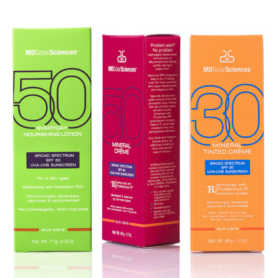 MDSolarSciences The Essential Sunscreen Trio, , large image number 1