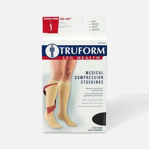 Truform Knee High Stockings, 30-40mmHg, Unisex