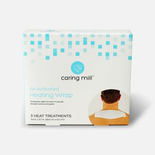 Caring Mill™ Air-Activated Heating Wraps, Neck & Shoulder (Box of 3)