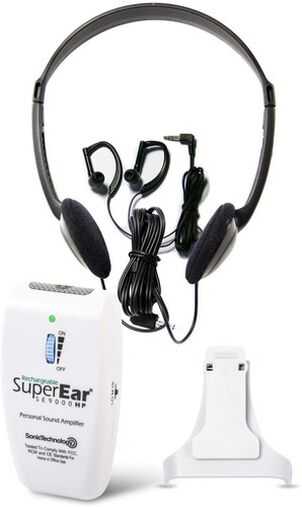 SuperEar SE9000HP Deluxe Rechargeable Personal Sound Amplifier