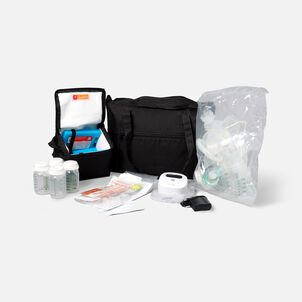 Ameda Mya Joy Double Electric Breast Pump with Large Tote and Deluxe Accessories