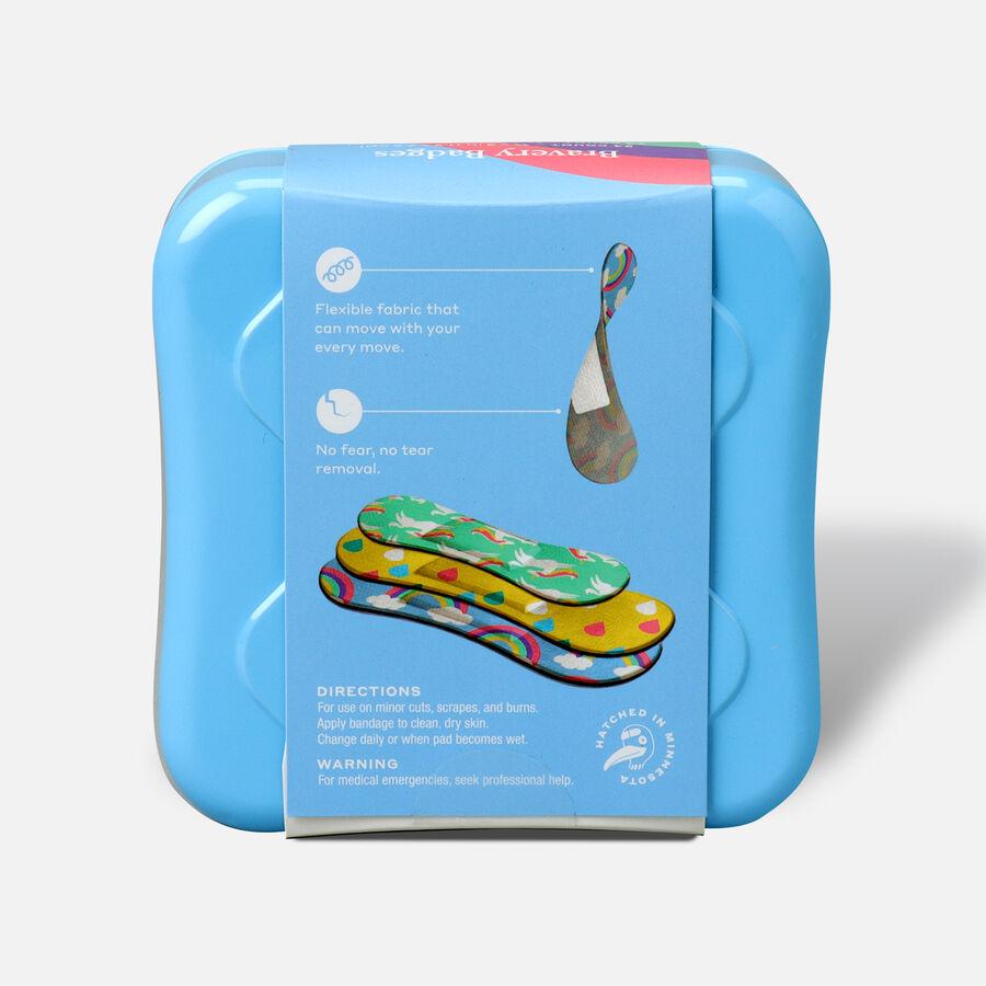Welly Bravery Badges Assorted Kids Rainbow Flex Fabric Bandages - 48ct, , large image number 1