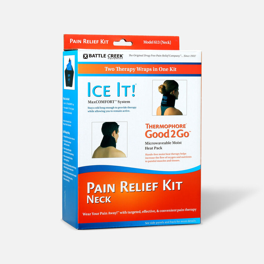 Battle Creek Neck Pain Kit with Moist Heat and Cold Therapy, , large image number 2