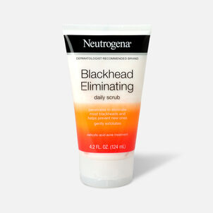 Neutrogena Blackhead Eliminating Daily Acne Scrub, 4.2oz.