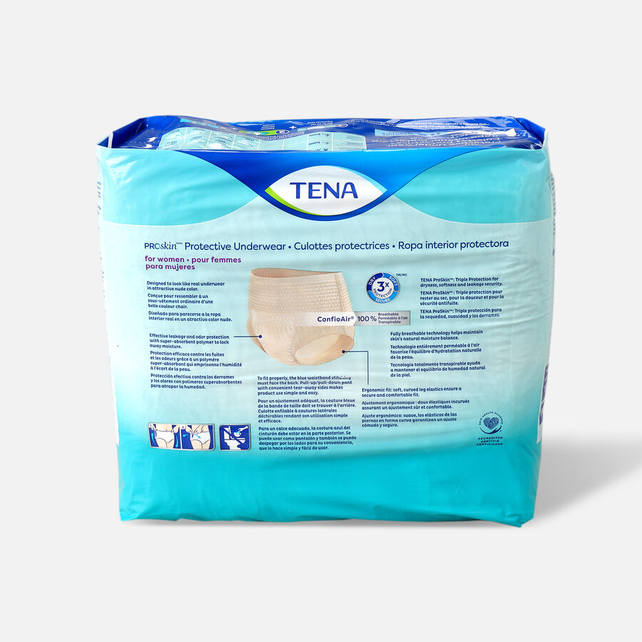 TENA ProSkin™ Protective Incontinence Underwear for Women, Maximum Absorbency, Large, 18 Count, , large image number 1