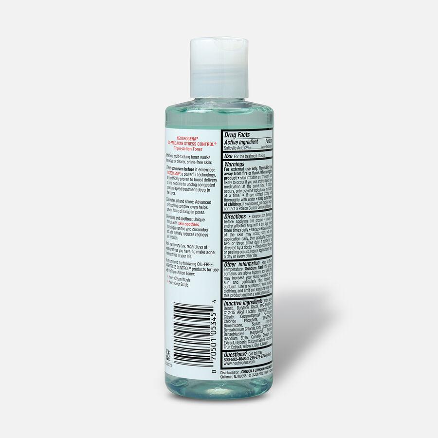 Neutrogena Oil-Free Acne Stress Control Triple-Action Toner, 8oz., , large image number 1