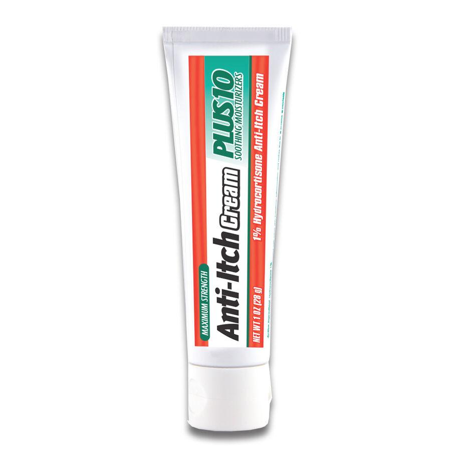GoodSense® Hydrocortisone 1% Plus Cream Max Strength, 1 oz, , large image number 1