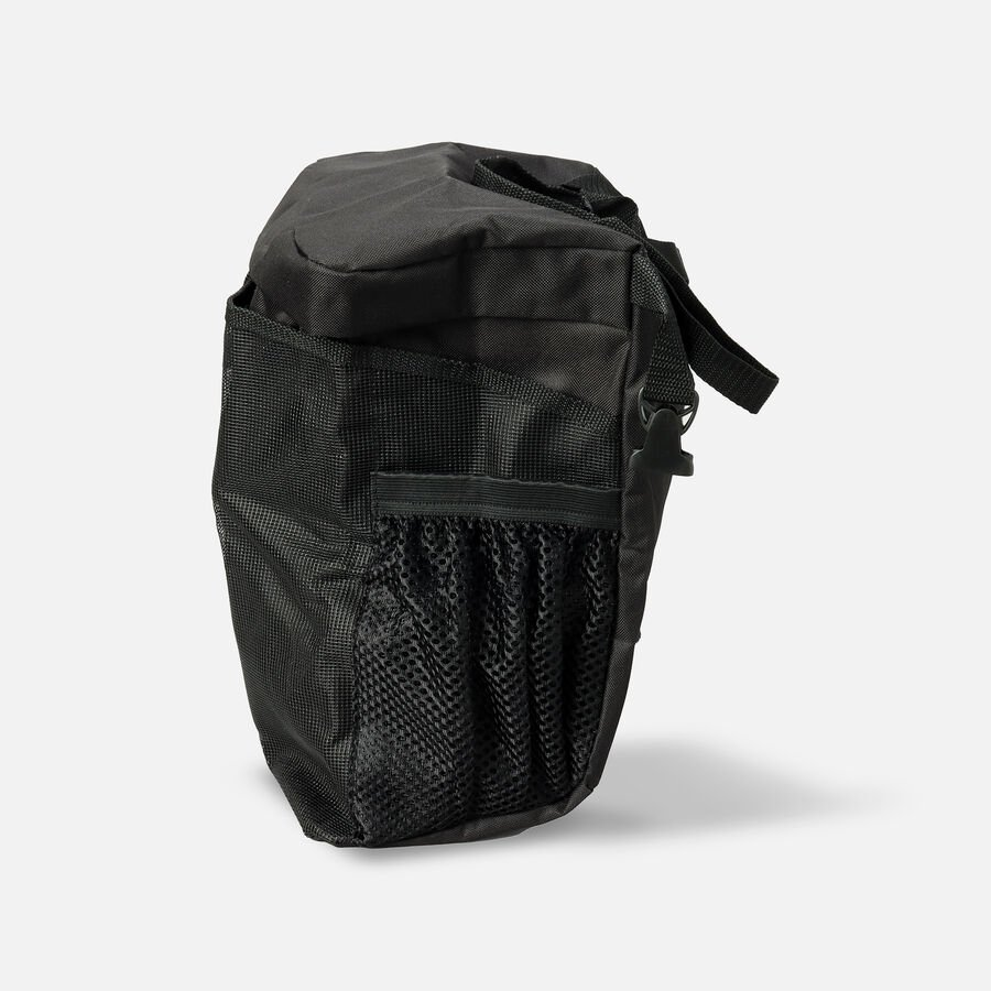 """Homecare Products Wheelchair Carry On Pouch 15"""" L x 15"""" x 5"""" H, Black, Nylon, , large image number 2"""