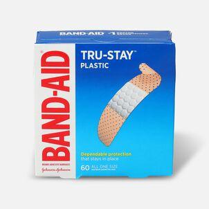 Band-Aid Plastic Strips Bandages, 60 ea