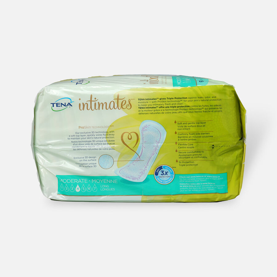 TENA Intimates Pads Moderate Long, 60 ct, , large image number 1