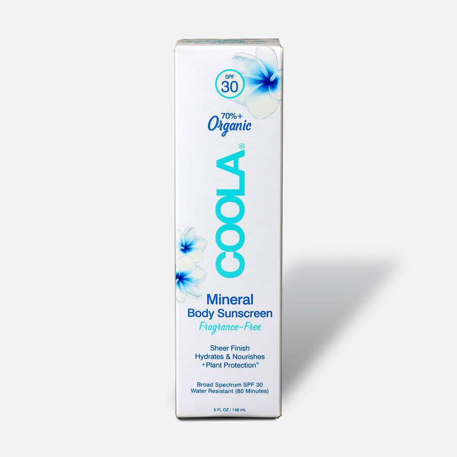 Coola Mineral Body Organic Sunscreen Lotion SPF 30 Fragrance-Free, 5oz., , large image number 1